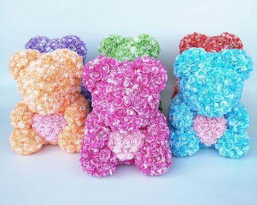 achat ours en rose fête des mères