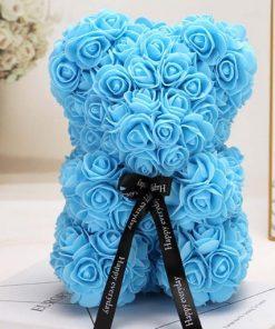 ours en rose bleu