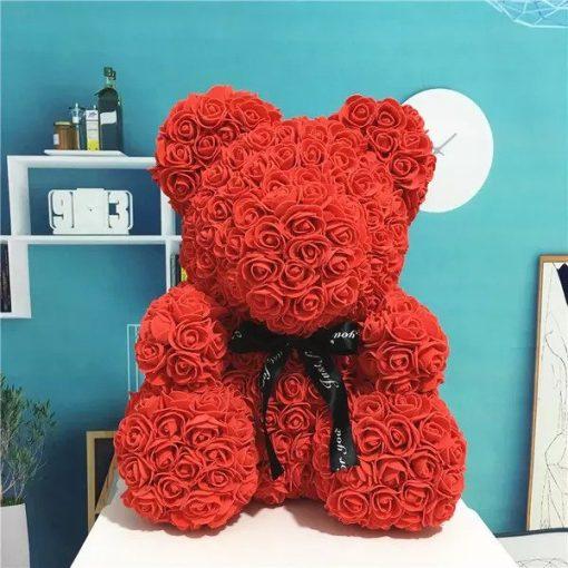 ours en rose saint valentin