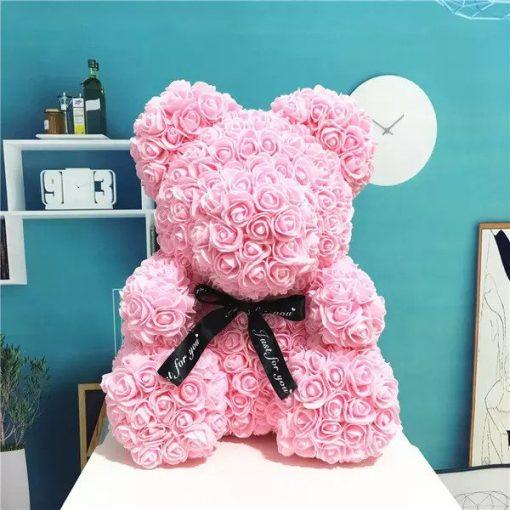 l'ours en rose éternel Rose