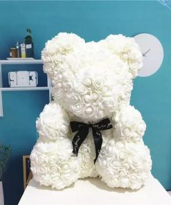 ours en rose blanc